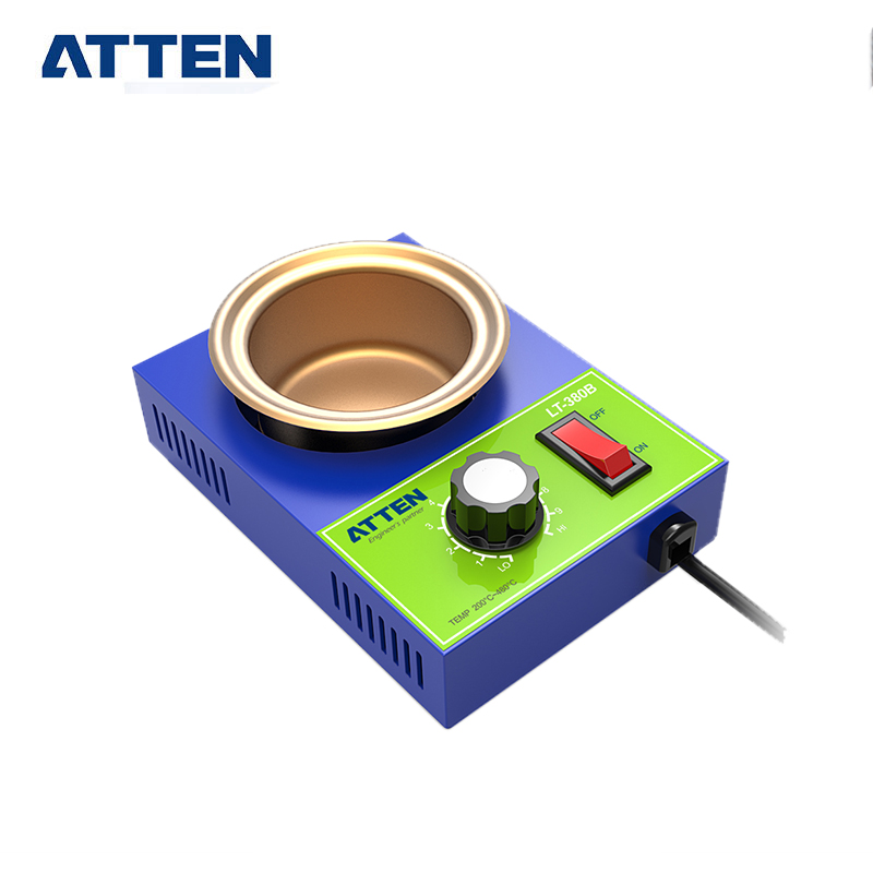 ATTEN Digital Lead Free 250W Solder Melting Tin Pot for <strong>Welding</strong>/Soldering Tin