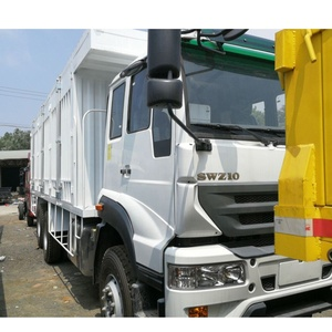 Good performance SWZ 10 wheeler cargo truck active demand truck camper truck spare parts