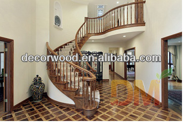 China Manufacturer Modern Wood Stairs Wholesales