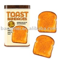 toast bandage dispossible medical suplies