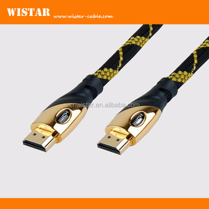 wistar Support 3D, Ethernet 1080p metal shell hdmi cable support 2.0v 1.4v
