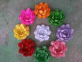 Colourful origami lotus buy origami flowers product on alibaba colourful origami lotus mightylinksfo
