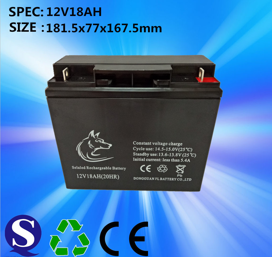 MF 12v 18ah 20hr rechargeable lead acid battery for electronic scale
