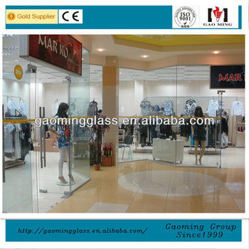 Glass Entry Door For Shop Front Glass Door And Glass Partition For
