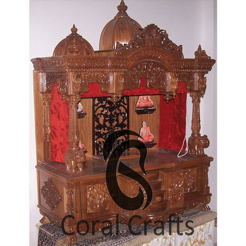 Teak Wood Temple, Teak Wood Temple Suppliers And Manufacturers At  Alibaba.com