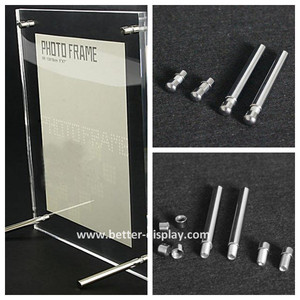 wholesale high quality clear acrylic photography frames