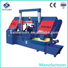 2012 400MM Diameter CNC Hydraulic Metal Band Saw Machine GZK4240-Z