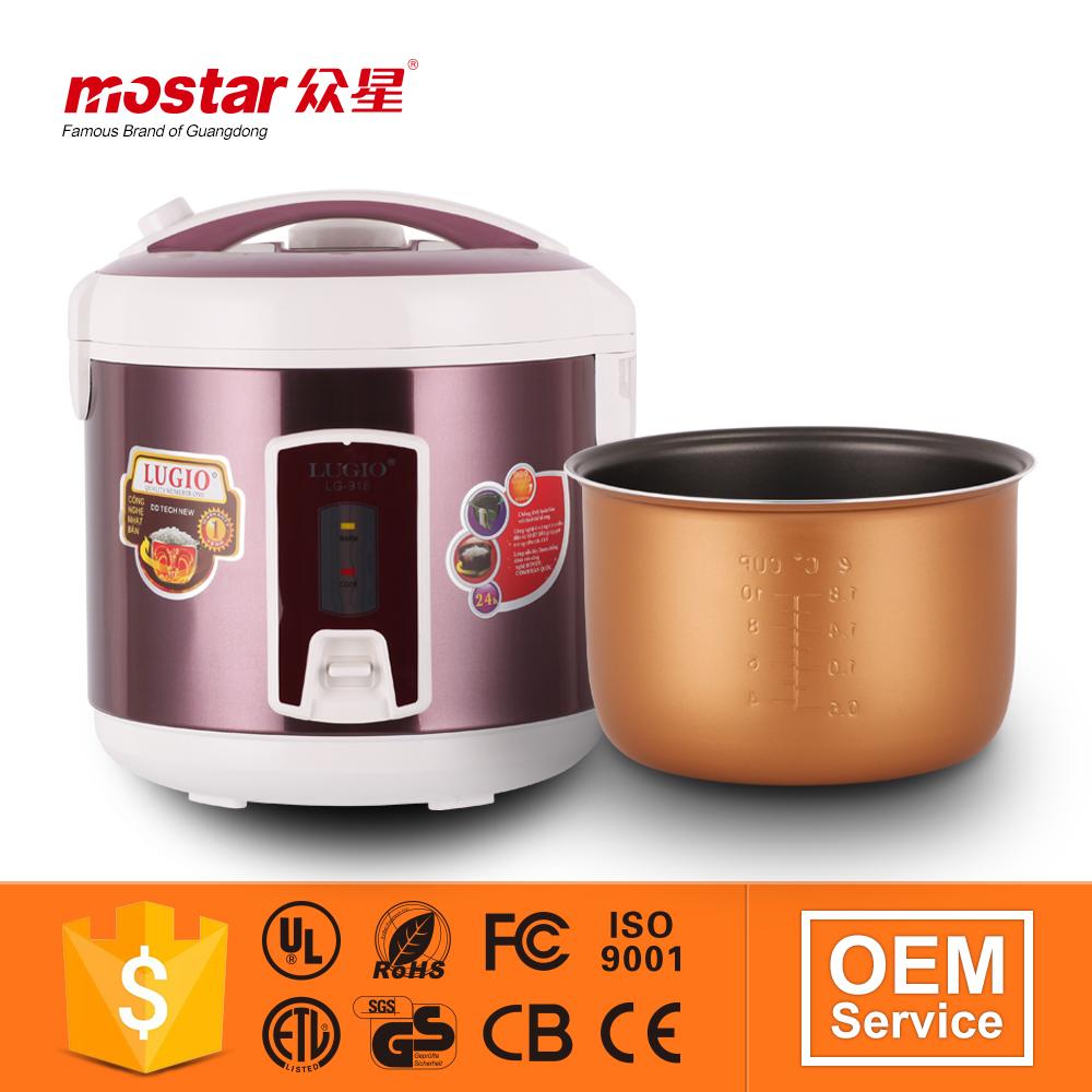 Cylindre batterie de cuisine de marque grand pots de for Fourniture de cuisine commerciale