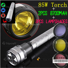 waterproof mini ABS led usb rechargeable torch 85w FLASHLIGHT