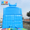 Outdoor giant inflatable slide for children