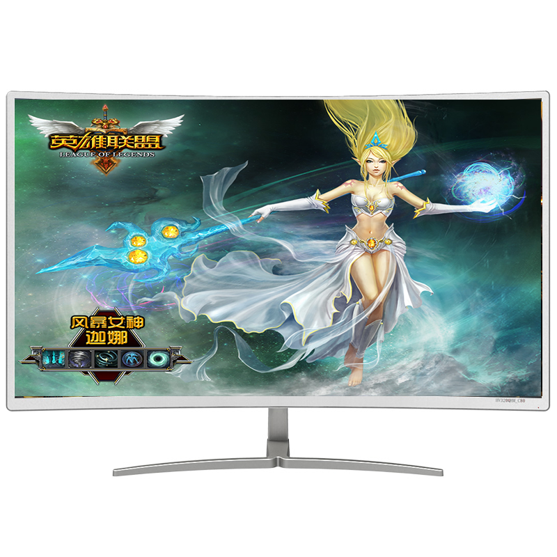 1080p curved monitor cheap 4k ultra wide curved monitor with vga / hdm i /dvi