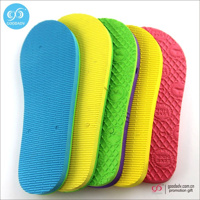 Wholesale colorful eva foam sheet / shoes flip flop slipper soles