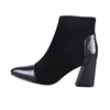 UP-0105J Latest design high heel pu leather boots pointy boots