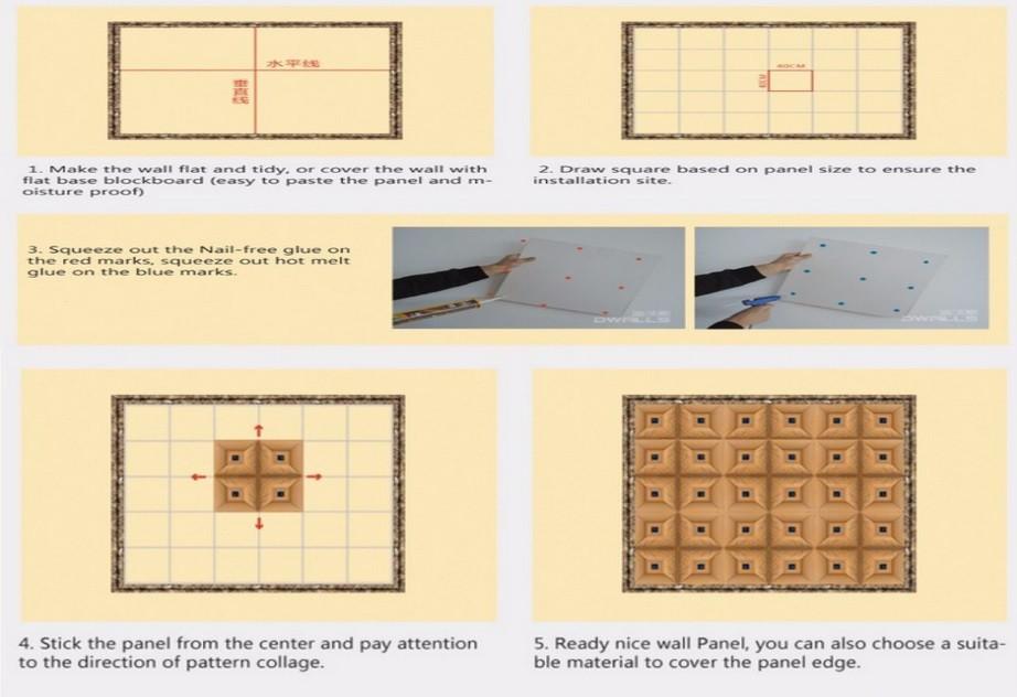 Textured Gypsum 3d Wall Panels - Buy Textured Gypsum 3d Wall Panels ...