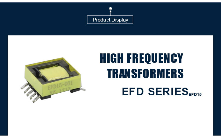 EFD15   Horizontal or Vertical High Frequency Transformer