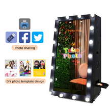 Smart Touch Screen Goedkope Photo Booth Voor Verkoop 52 Inch Magic Spiegel Photo booth