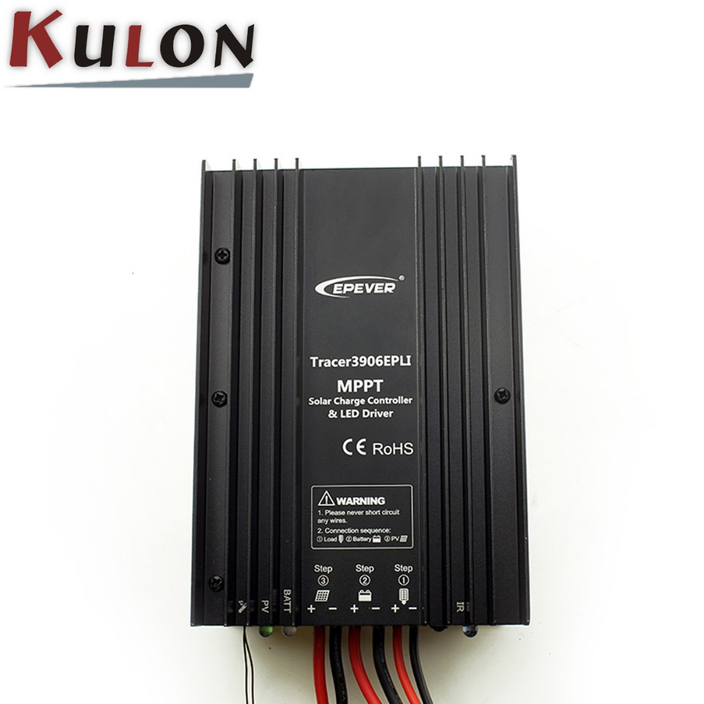 Epsolar Epever Tracer3910epli Mppt Solar Controller 12v 24v Buy Short Circuit Tracer Charge Controllermppt 24vsolar Light Product On