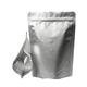 EGP ZP003 Stand Up silver Ziplock aluminium foil packing bags for food