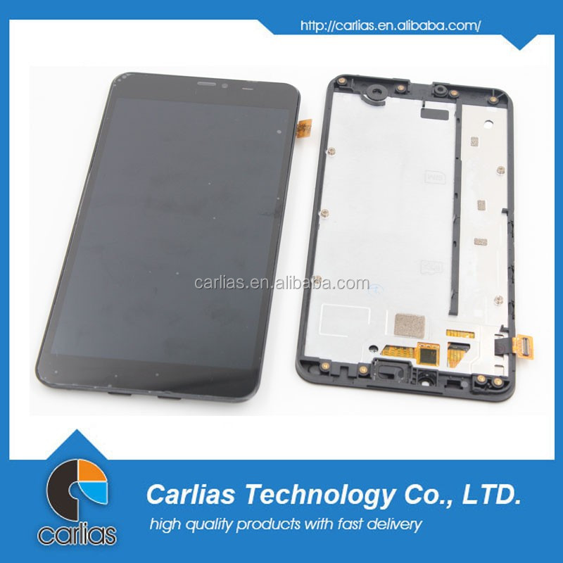 Black LCD Display Touch Screen Digitizer Assembly for Nokia Lumia 640 XL