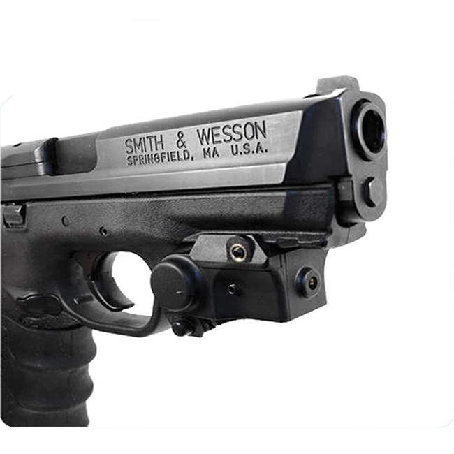 Subcompact pistol mounted 532nm green laser sight фото