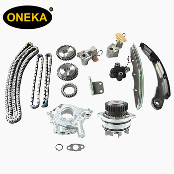 [oneka Engine Parts] Tk3035wop Onk-ns032wpop 3 5l Timing Chain Kit With  Water+oil Pump Fits For Quest Maxima Altima Vq35de Dohc - Buy Vq35de Timing