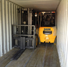 Price 3 ton diesel fork lift truck with Japan Engine, Isuzu Engine 4.8 m lift height, 3 stage mast side shift
