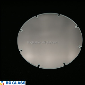 tempered light glass clear lamp shade led downlight housing parts