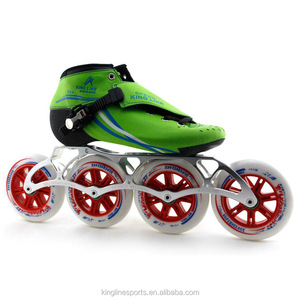 King Line Flash Man Inline Speed Skates/Roller Skate For Sale