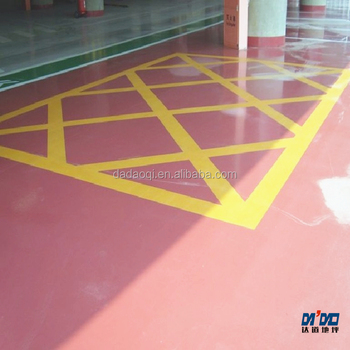 High Gloss Epoxy Flooring Coating Pink Floor Paint