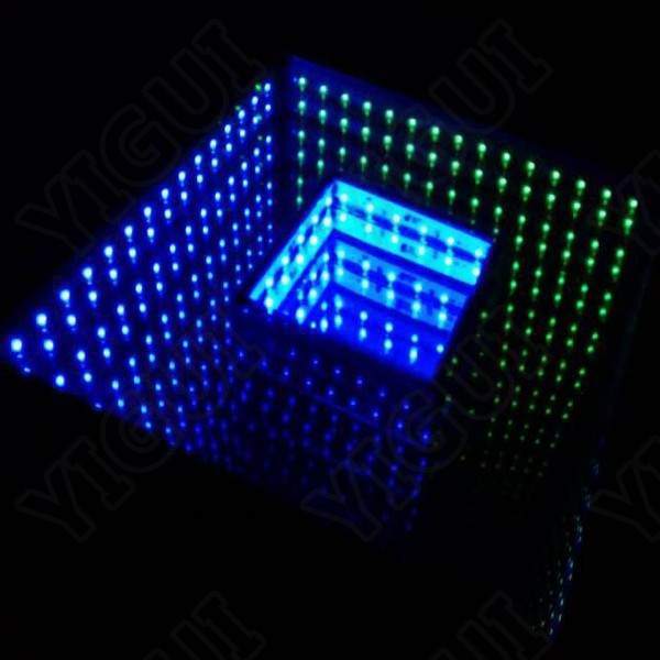 wedding club party effect led 3d optical illusions time