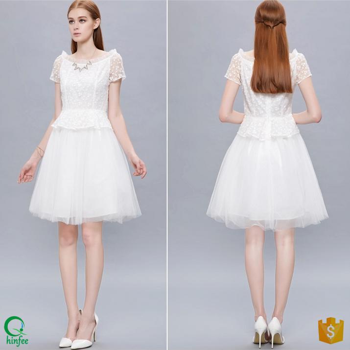 04cd1b2c5d94e Mesh Peplum Dress