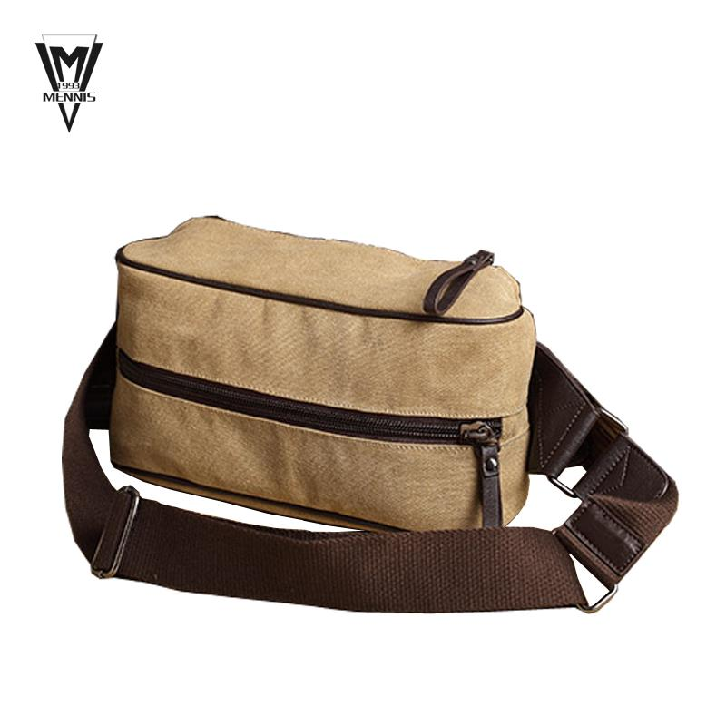 Fashion Men Messenger Bags Casual Outdoor Travel Hiking Sport waist packs  Chest Canvas Male Small Retro Military Shoulder Bag