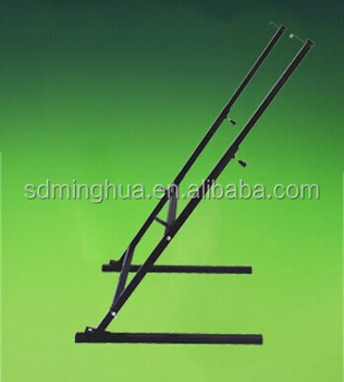 adjustable metal advertising stand poster frame display