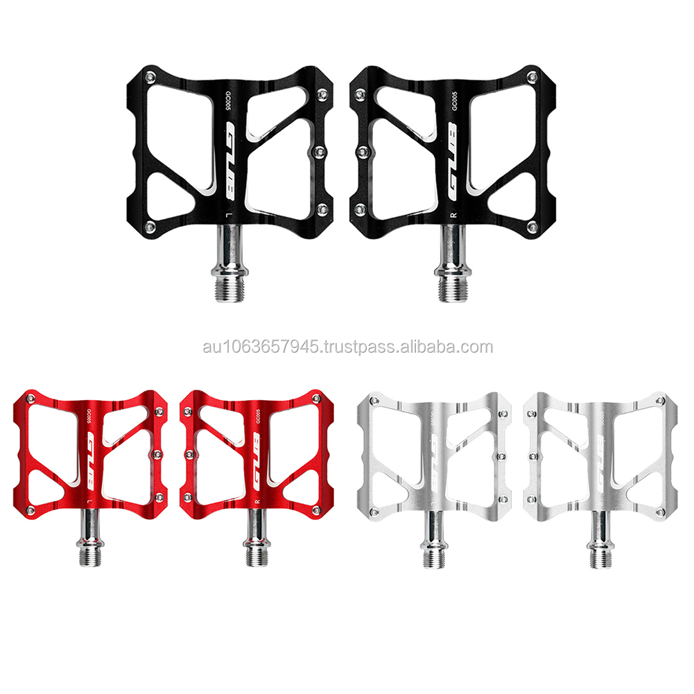 "1 Pair Aluminum Alloy Road MTB BMX Bike Pedals Flat 9//16/"" Bicycle Pedal Bearing"