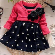 Hot New Toddler Baby Kids Girls font b Dress b font Princess Party Tulle Polka Dot