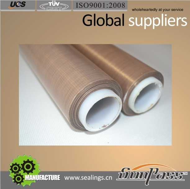 Import Sealing Teflon Product Teflon Coated Fiberglass Cloth