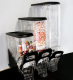 Single bulk Snack cereal coffee Jelly bean candy dispenser