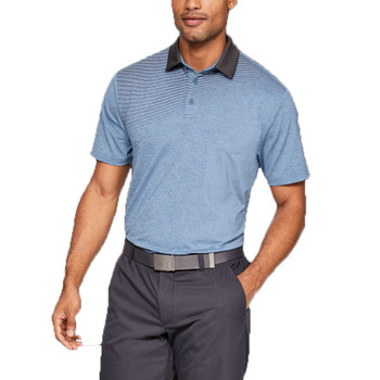 Men's  Polyester UPF 30+ Breathable Wholesale Latest Design Short Sleeve Golf Polo Shirt