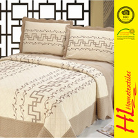 low MOQ queen Size high quality cotton bedspread
