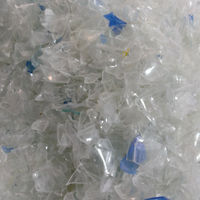 Unwashed Waste Plastic Pet Flakes ; Blue,Clear And Green (pvc Less ...