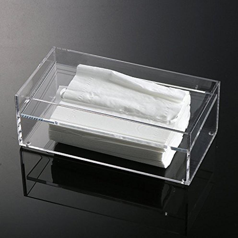Onwijs Clear Acryl Tissue Doos Houder Acryl Servethouder - Buy Clear EV-01