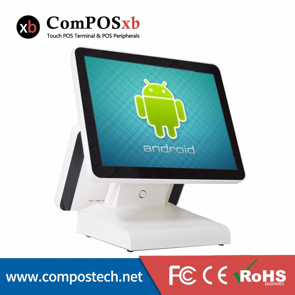 15 Inch Android OS Pos System Touch Screen Pos Terminal/All In One Pos Machine EPOS System For Drinking Shop