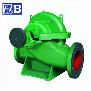 S Series Split Case Centrifugal Water Pumps Horizontal Pedestal Sump Pump