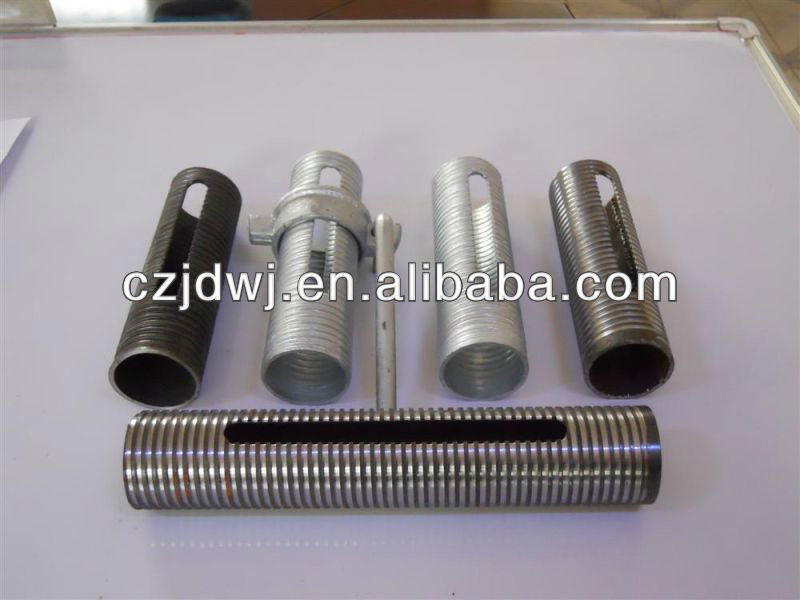 Prop sleeve with nut OD60mm Shoring Prop accessories