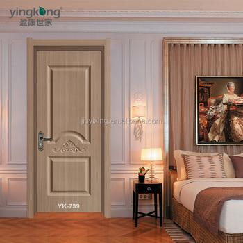 Yk 739 простой нарра древесина прочная деревянная дверь необычные