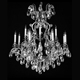 wedding decoration white classic plastic chandeliers