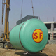 China manufacturer fiberglass double wall fuel oil storage tank