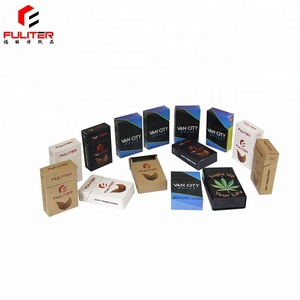 Customized cheap disposable paper cardboard cigarette boxes sale