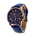 Superior New Women s Fashion 0Roman Numerals Faux Leather Analog Quartz Wrist Watch June29
