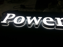 Indoor decorating front side lit opal acrylic led sign board used led sign board neon sign china with excellent appearance